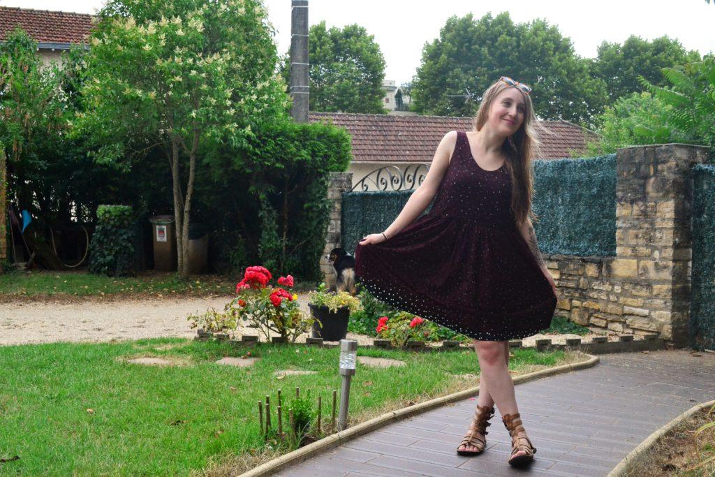 republique du chiffon robe lucie plein pied