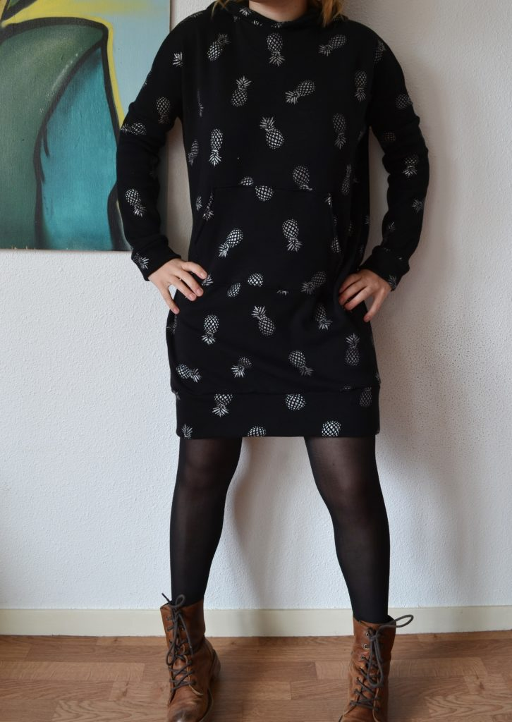 Robe Sweat Kommatia Pattern