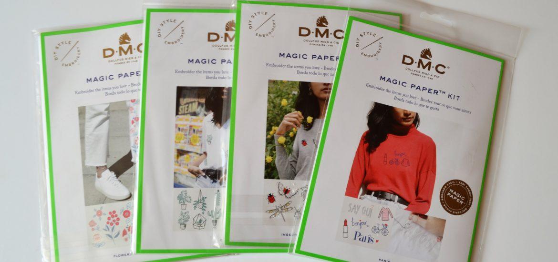Kit broderie DMC Magic Paper Kit