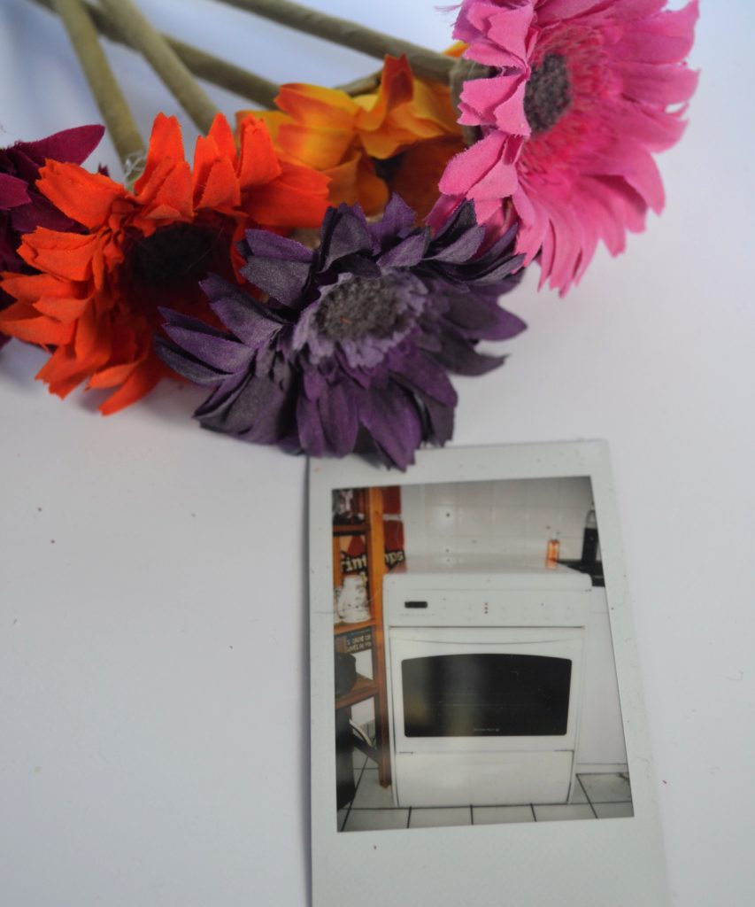 assiette diy four polaroid