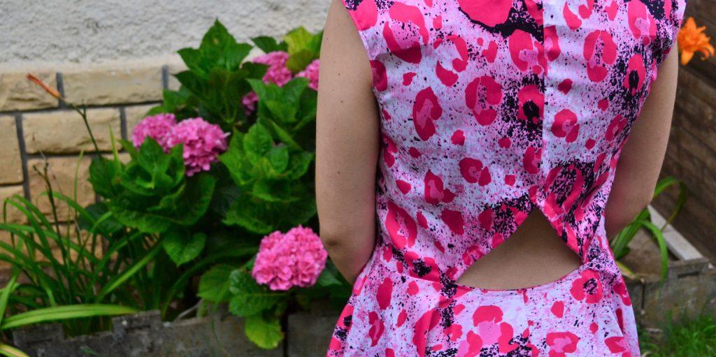 robe sarbacane eglantine et zoé découpe dos détail